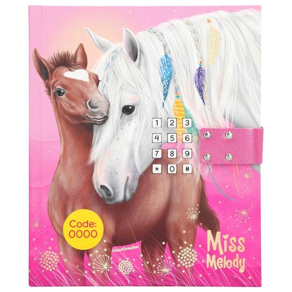Miss Melody - Tagebuch mit Geheimcode