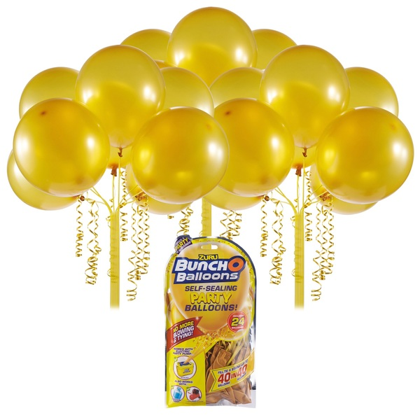 Bunch O Balloons Party - Nachfüll-Pack 24 Ballons, gold