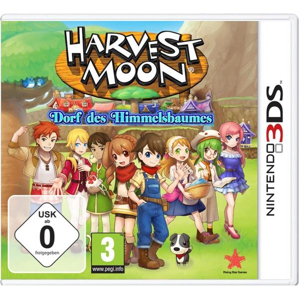 3DS - Harvest Moon: Dorf des Himmelsbaumes