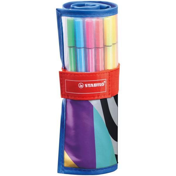 STABILO - Premium-Filzstift Pen 68 - 25er Rollerset