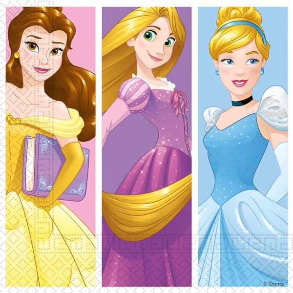 Disney Prinzessin Daydream - 20 Servietten