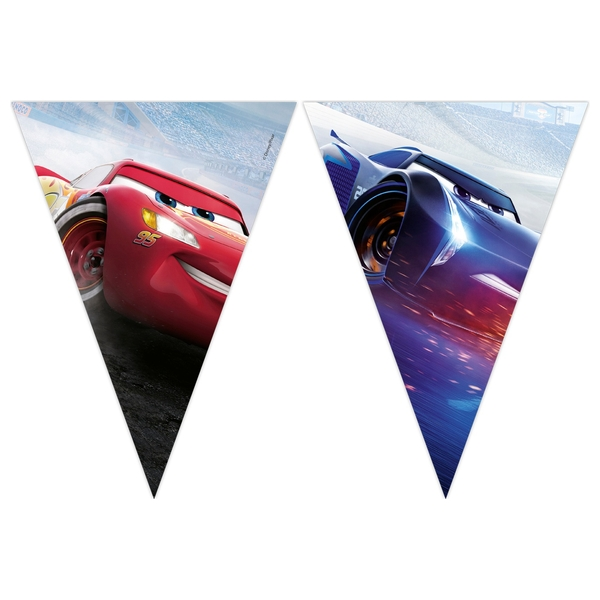 Disney Cars - The Legend of the Track, Wimpelkette