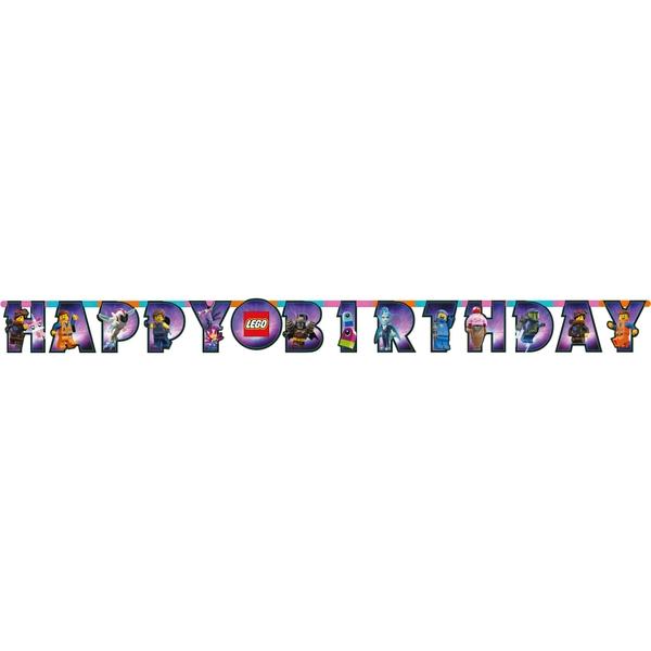 Lego Movie 2 - Partykette, Happy Birthday