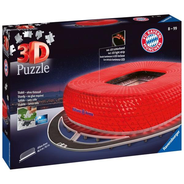 Ravensburger - 3D Puzzle: Allianz Arena bei Nacht