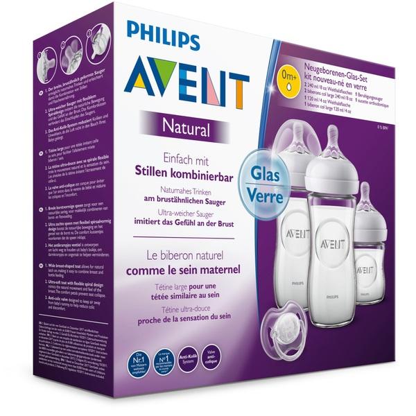 PHILIPS AVENT - Natural 2.0 Neugeborenen-Glas-Set