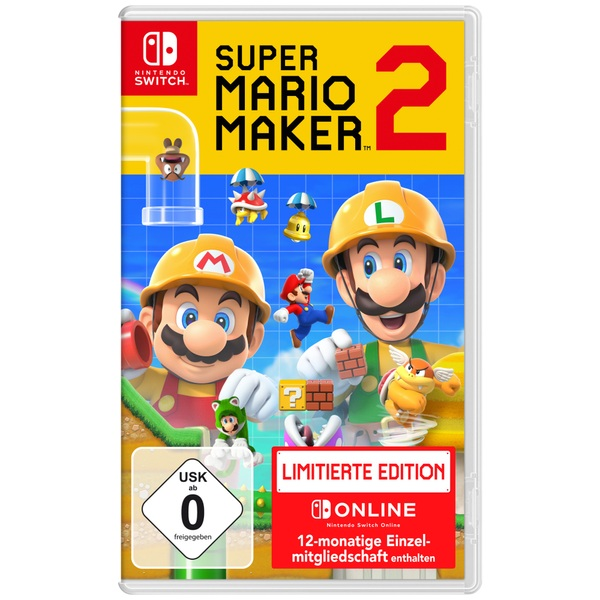 Nintendo - Switch: Super Mario Maker 2, limited Edition