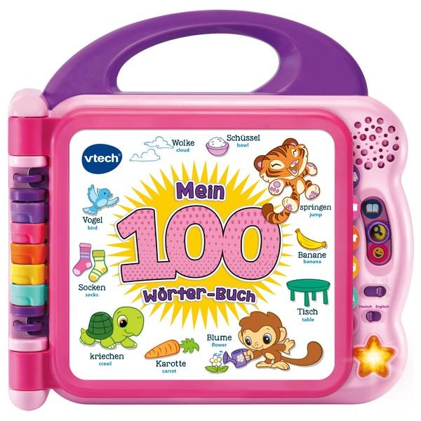 VTech - Mein 100-Wörter-Buch, pink