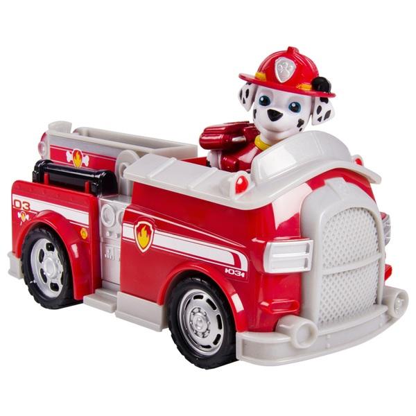 Paw Patrol - Hundewelpe Marshall mit Feuerwehrauto und Leiter