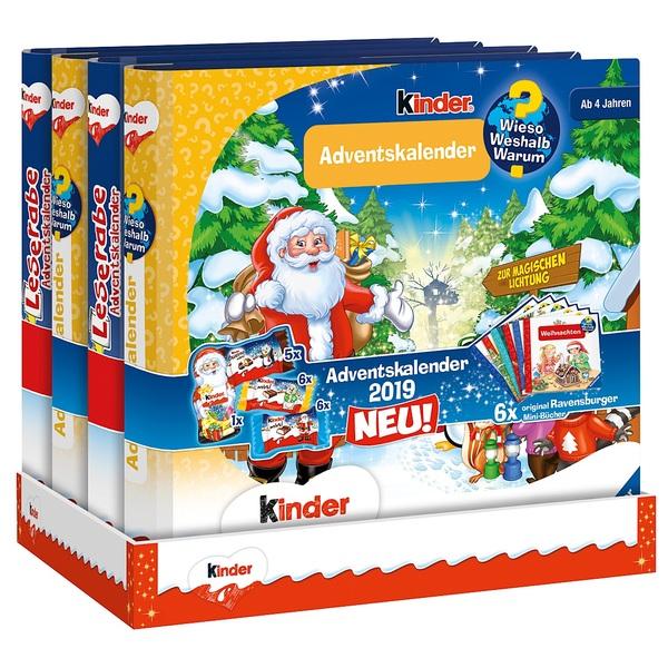 Kinder Weihnachtskalender.Kinder Mix Ravensburger Vorlese Adventskalender 109g Adventskalender Deutschland