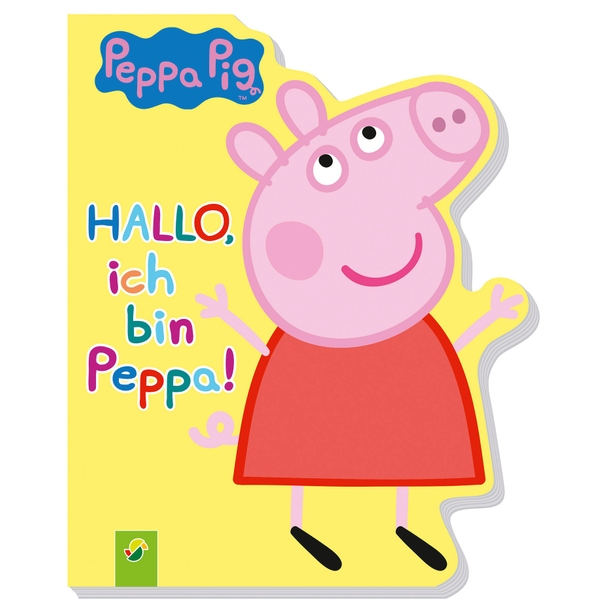 Peppa Pig - Hallo, ich bin Peppa!