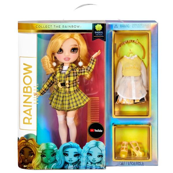 Rainbow High CORE Fashion Doll Sheryl Meyer (Marigold)