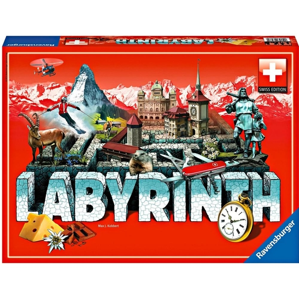 Ravensburger - Labyrinth Swiss Edition