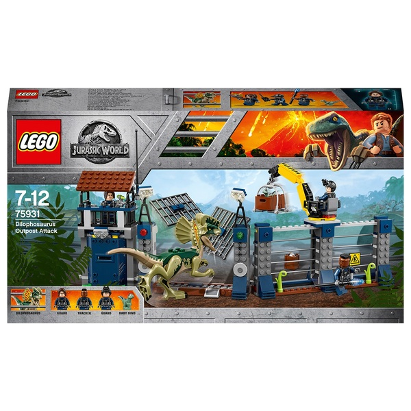 LEGO Jurassic World - 75931 Angriff des Dilophosaurus