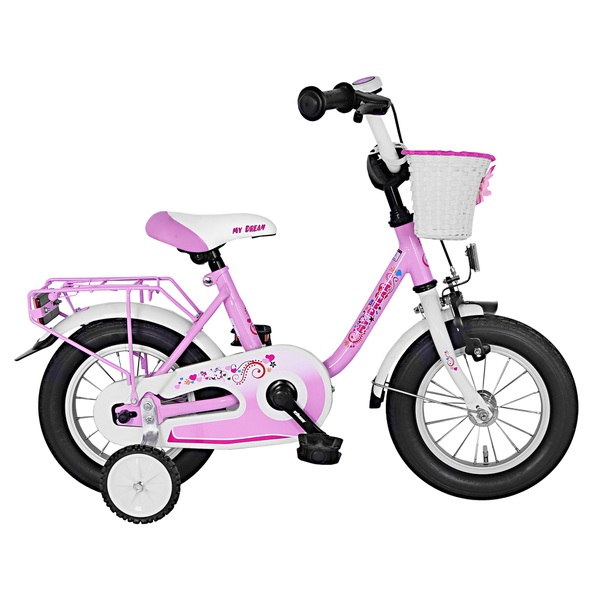 12 Zoll Kinderfahrrad My Dream, rosa | Smyths Toys Superstores