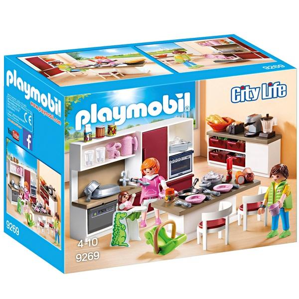 PLAYMOBIL - 9269 Große Familienküche - PLAYMOBIL City Life Deutschland