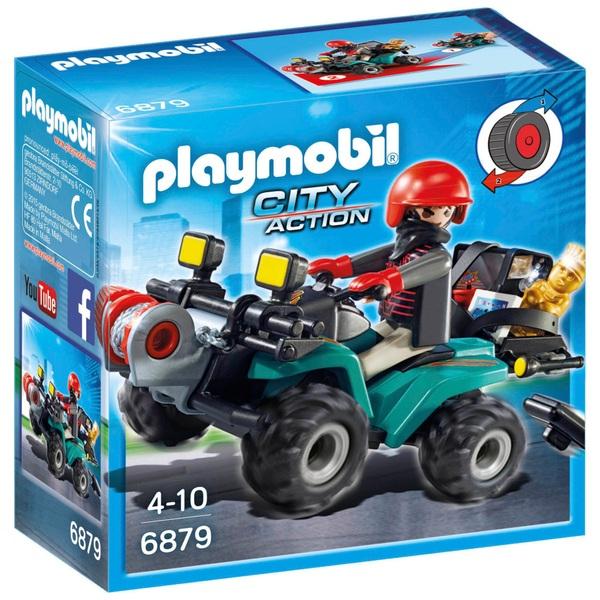 PLAYMOBIL - 6879 Ganoven-Quad mit Seilwinde