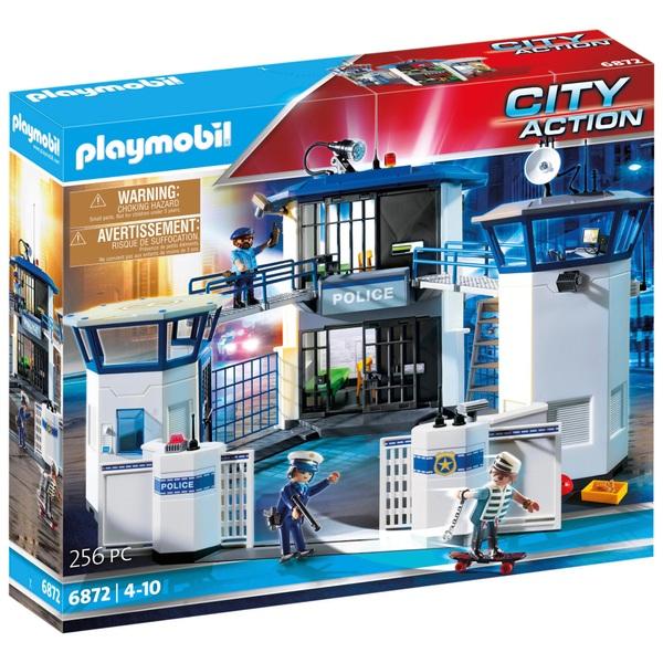 PLAYMOBIL - 6872 Polizei-Kommandozentrale mit Gefängnis
