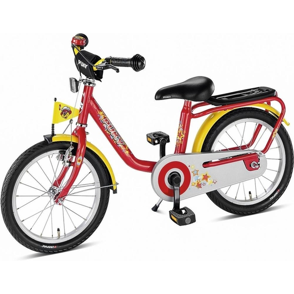 puky 16 zoll kinderfahrrad z6 rot puky deutschland. Black Bedroom Furniture Sets. Home Design Ideas