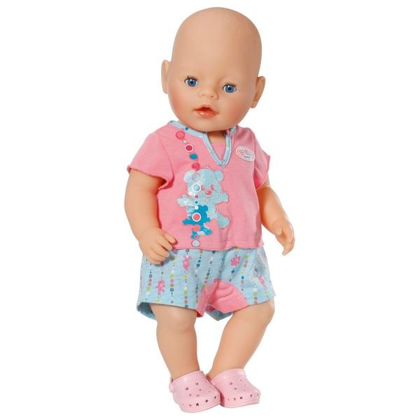 BABY born - Bathroom: Shorty Pyjama mit Clogs