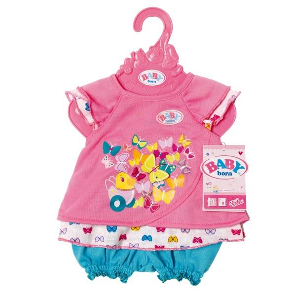 BABY born - Babykleidchen Schmetterling, sortiert