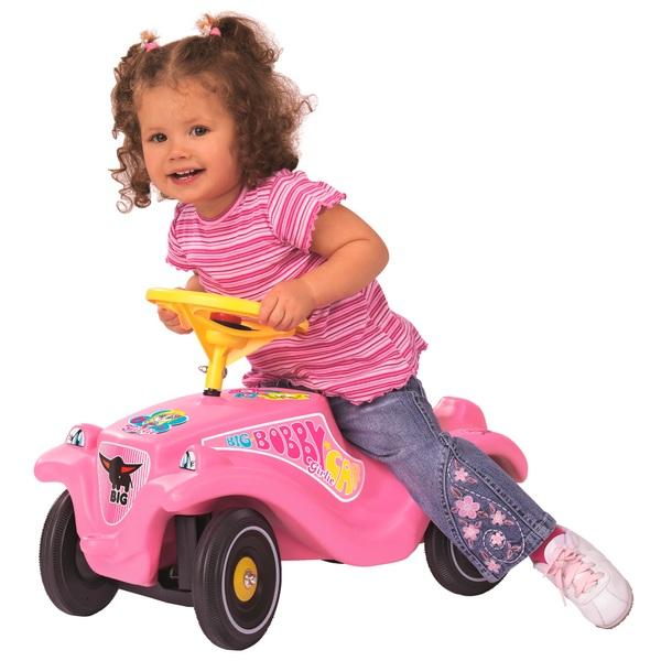 BIG - Bobby Car: Girlie, rosa