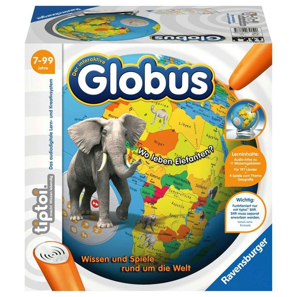 Ravensburger - tiptoi: Der interaktive Globus