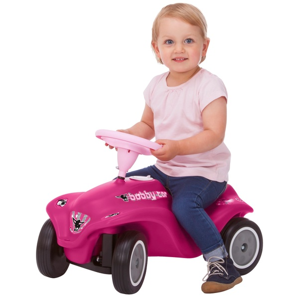 BIG - Bobby Car: Rockstar Girl, pink