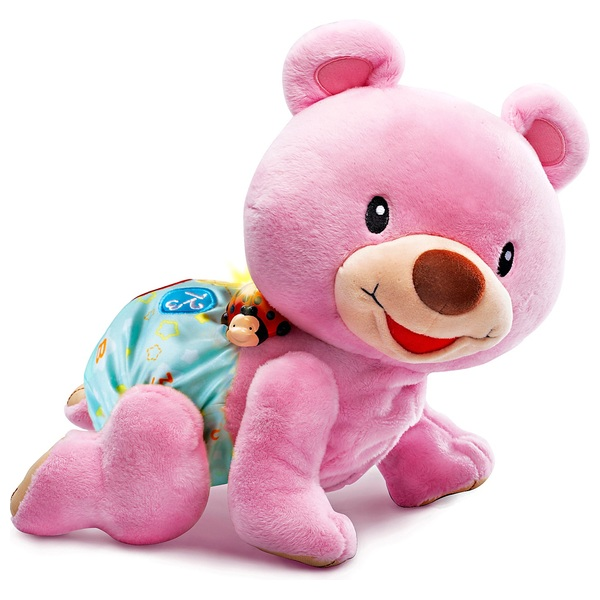VTech - Krabbel mit mir Bär, pink