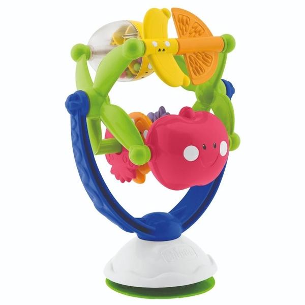 Chicco - Hochstuhl-Spielzeug Freche Früchte