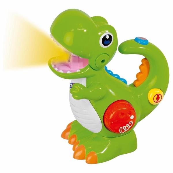 Chicco - Dino mit Stimmrekorder und Taschenlampe