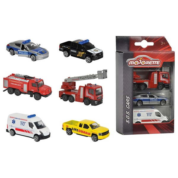 S.O.S.: Fahrzeuge, 3-teilig, sortiert