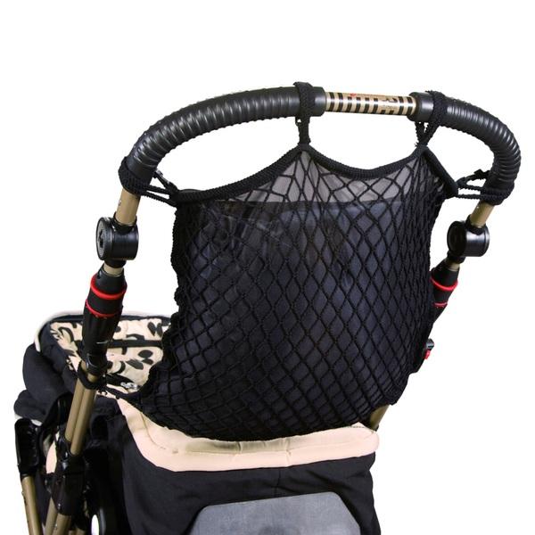 Sunny Baby - Universal Einkaufsnetz für Kinderwagen, schwarz