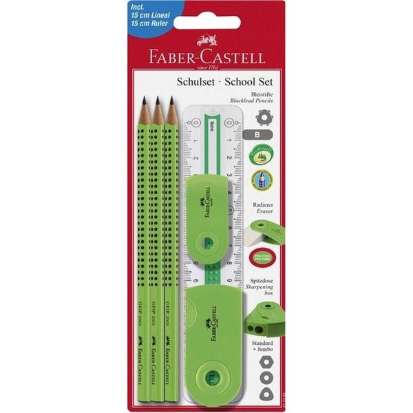 Castell - Schreibset Sleeve, grün