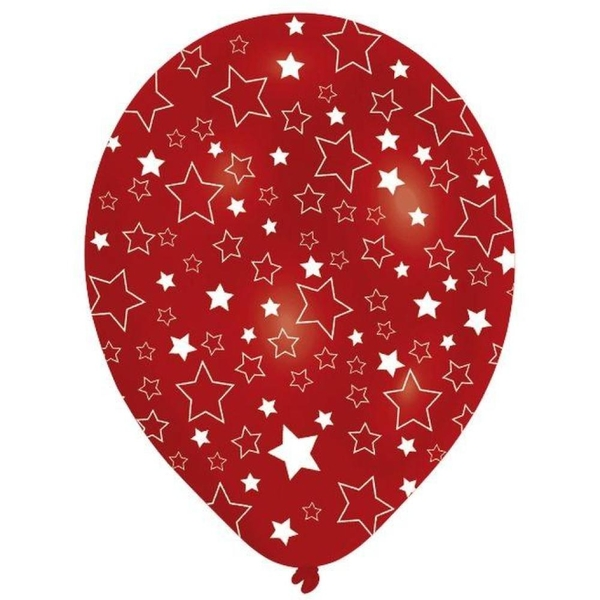 Riethmüller - Latexballons, Star Global, 8 Stk.