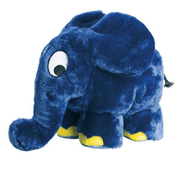 Schmidt Spiele - Die Maus: Plüschfigur Elefant, ca. 22 cm