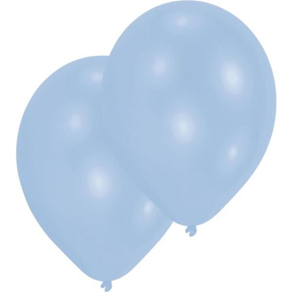 Riethmüller - Latexballons standard, hellblau, 10 Stk.