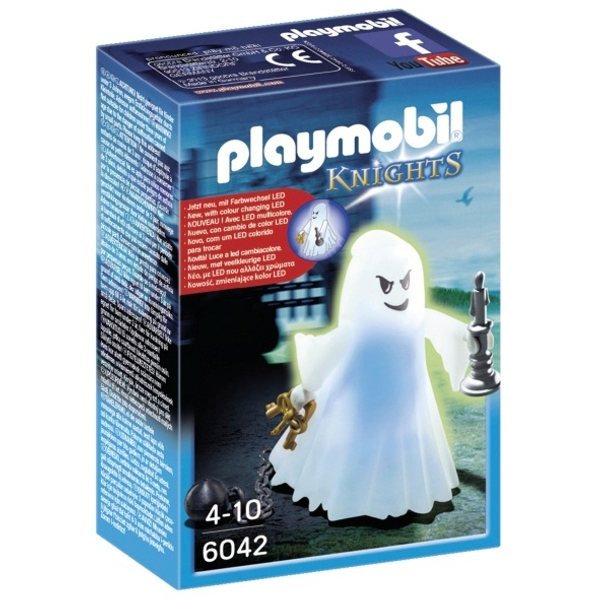 PLAYMOBIL - 6042 Gespenst mit Farbwechsel-LED