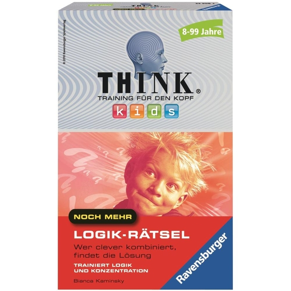 Ravensburger - Think Kids Logik-Rätsel
