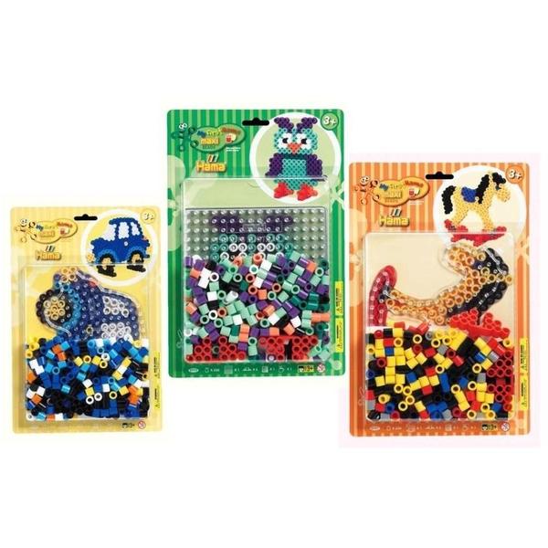 Basteln & Kreativität Spielzeug WunderschöNen Steckperlen Maxi Mit 3 Platten