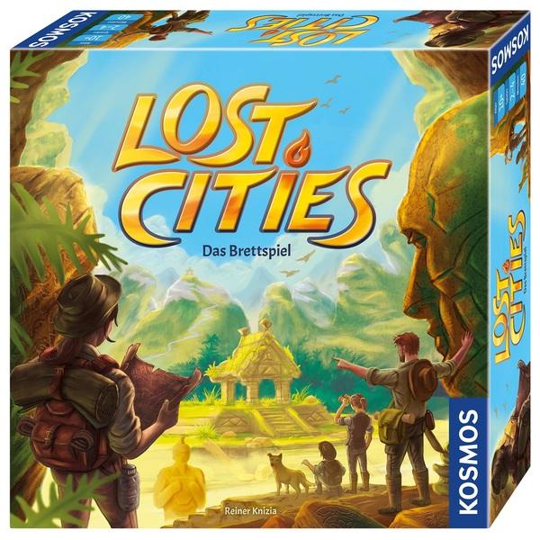 Kosmos - Lost Cities, das Brettspiel