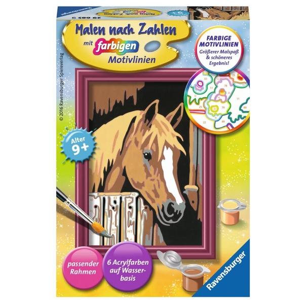 Ravensburger - Malen nach Zahlen: Pferde im Stall