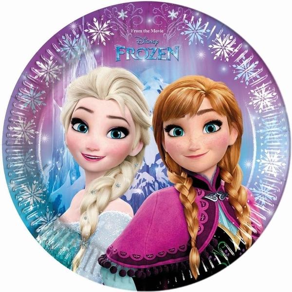 Disney Die Eiskönigin - Nordlichter: 8 Teller, Ø 23 cm
