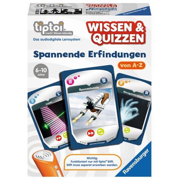 Ravensburger - tiptoi Spiel: Wissen & Quizzen - Erfindungen