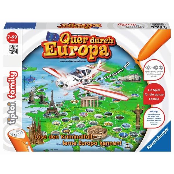 Ravensburger - tiptoi Spiel: Quer durch Europa