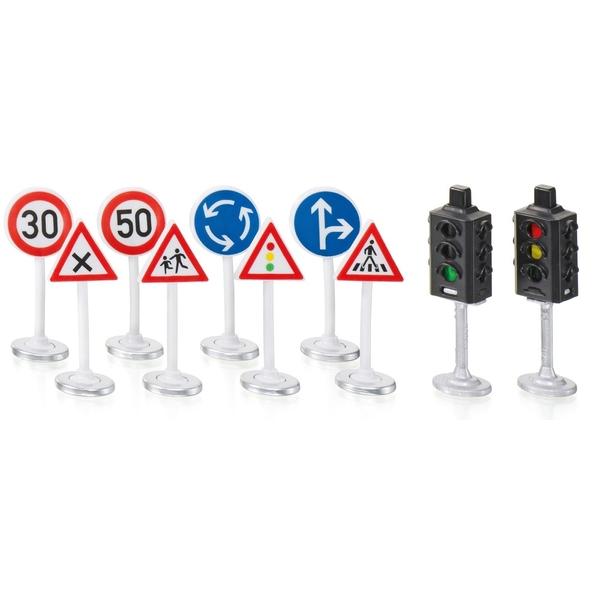 SIKU World - 5597: Ampeln mit Verkehrsschildern