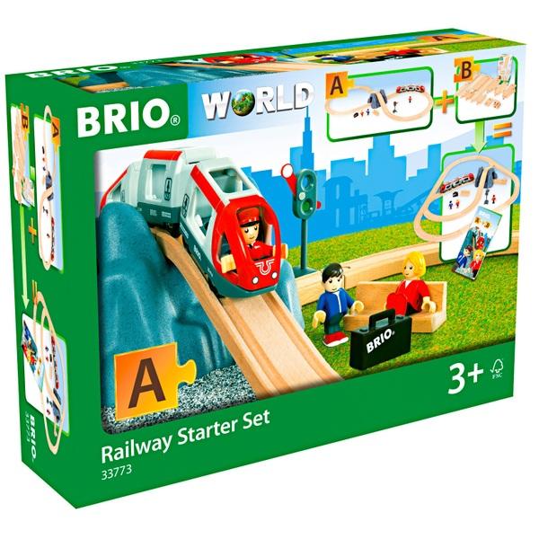 »BRIO® WORLD Goldwaggon mit Licht« Eisenbahn Brio® Zubehör für Spielzeugeisenbahn Zubehör