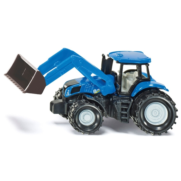 SIKU Super - 1355: Traktor New Holland mit Frontlader