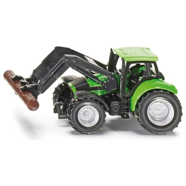 SIKU Super - 1380: Traktor mit Baumstammgreifer