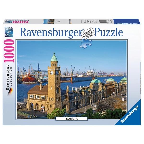 Ravensburger - Puzzle: Hamburg, 1000 Teile