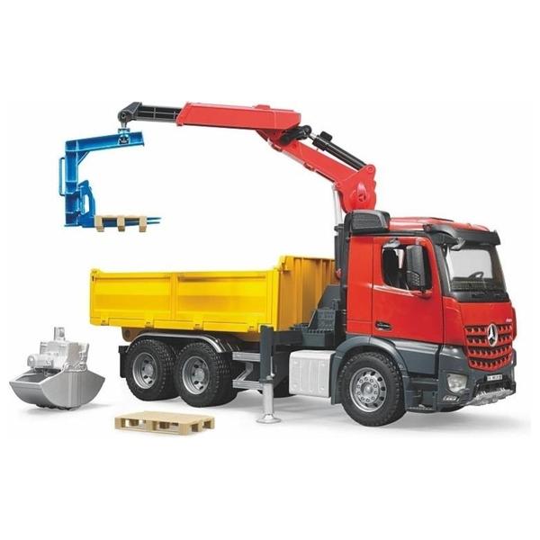 Bruder- Arocs Baustellen LKW mit Kran